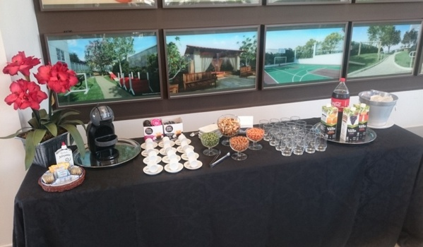Buffet de Coffee Break Junina